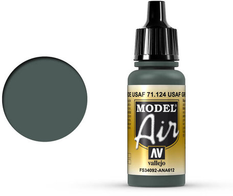 124. Vallejo Model Air: USAF Green (71.124)