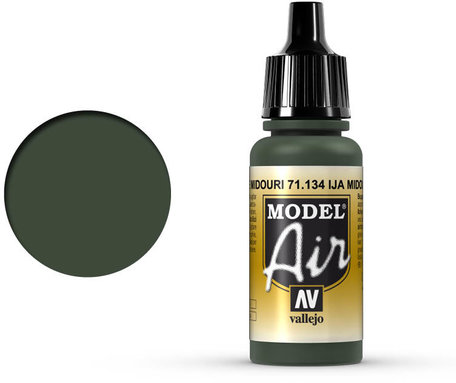 134. Vallejo Model Air: IJA Midouri Green (71.134)