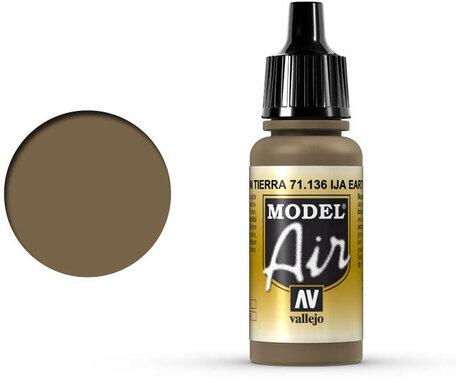 136. Vallejo Model Air: IJA Earth Brown (71.136)