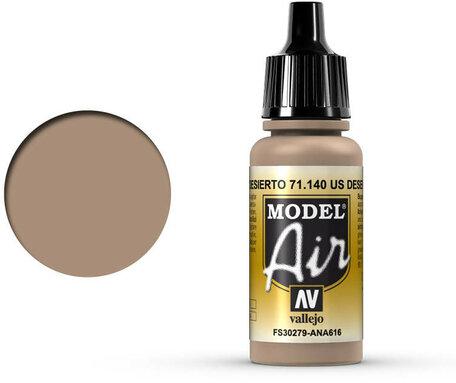 140. Vallejo Model Air: US Desert Sand (71.140)