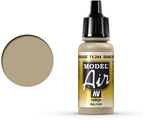 244. Vallejo Model Air: Sand Beige (71.244)