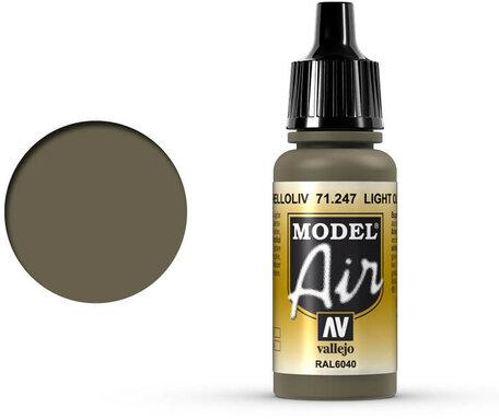 247. Vallejo Model Air: Light Olive (71.247)