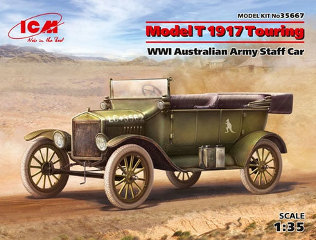 ICM Model T 1917 Touring 1:35