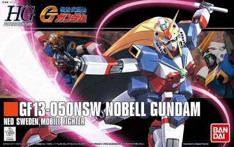 HG 1/144: GF13-050NSW Nobell Gundam