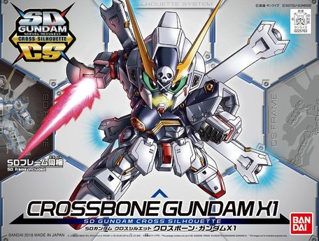 SD CS: XM-X1 Crossbone Gundam X-1