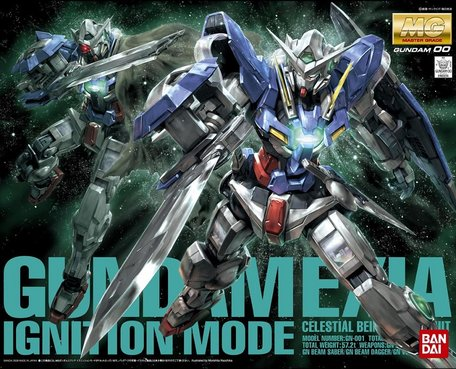 MG 1/100: GN-001 Gundam Exia Ignition Mode