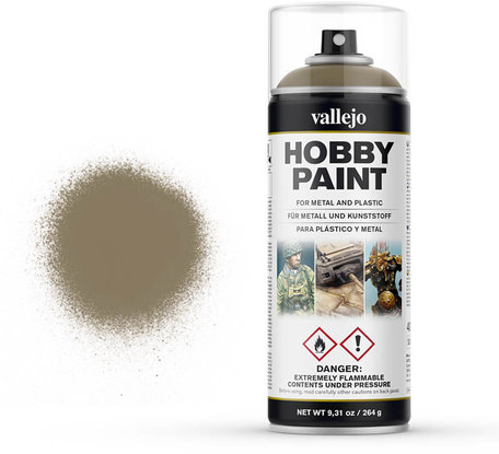 Vallejo Spray Paint: US Khaki (28.009)
