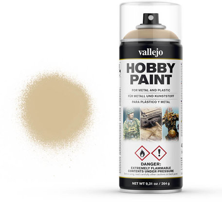 Vallejo Spray Paint: Bone White (28.013)