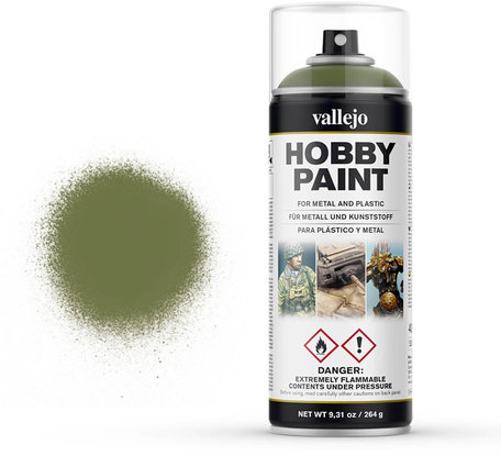 Vallejo Spray Paint: Goblin Green (28.027)