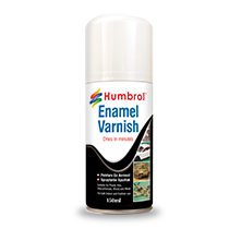 Humbrol Enamel Gloss Vernis Spray