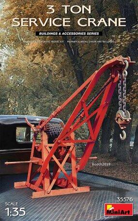 MiniArt 3 Ton Service Crane 1:35