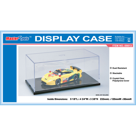 Display Case: 23,2 x 12,0 x 8,6 cm