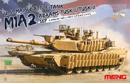 Meng M1A2 Abrams TUSK I / TUSK II SEP 1:35