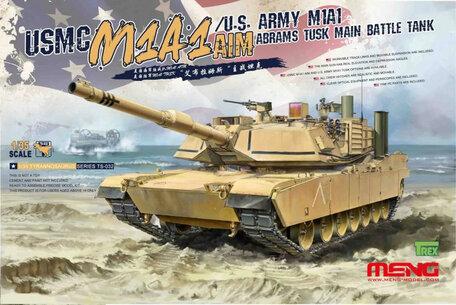 Meng U.S. Army M1A1 Abrams Tusk 1:35