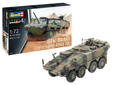 Revell GTK Boxer Command Post NL 1:72