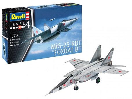 Revell MiG-25 RBT Foxbat B 1:72
