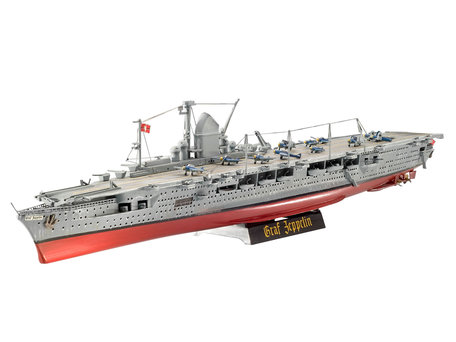 Revell German Aircraft Carrier GRAF ZEPPELIN 1:720