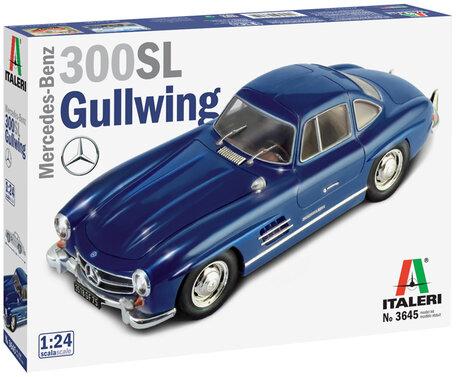 Italeri Mercedes Benz 300 SL Gullwing 1:24
