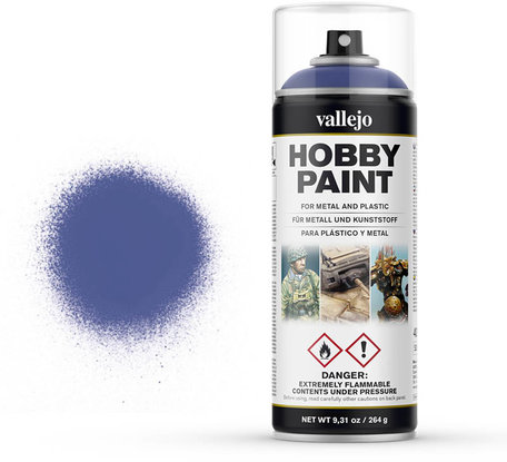 Vallejo Spray Paint: Ultramarine Blue (28.017)