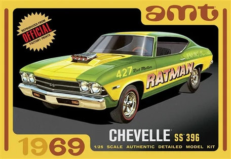 AMT 1969 Chevelle SS 396 1:25