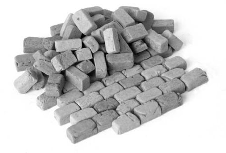 Plus Model Paving Stones Big: Granite 1:35