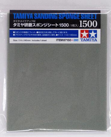 Tamiya Schuurspons P1500