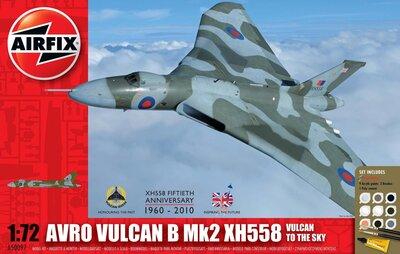 Airfix Avro Vulcan B Mk2 XH558: Vulcan To The Sky Gift Set 1:72