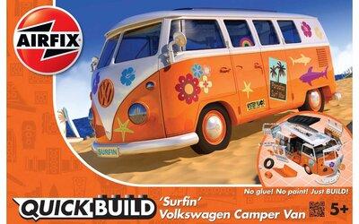 """Airfix Quickbuild Volkswagen Camper Van """"Surfin"""""""