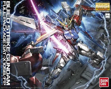 GAT-X105B/FP Build Strike Gundam Full Package MG 1/100