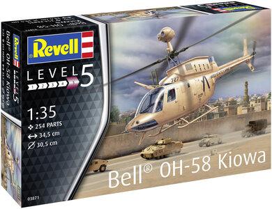 Revell 03871 Bell OH-58 Kiowa 1:35