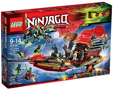 LEGO 70738 Final Flight of Destiny's Bounty