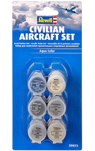 Revell 39072 Civilian Aircraft Set