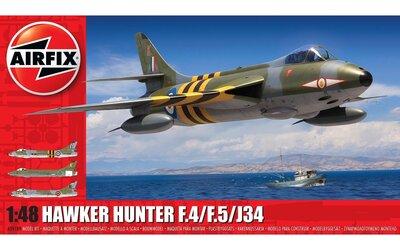 Airfix A09189 Hawker Hunter F.4/F.5/J.34 1:48