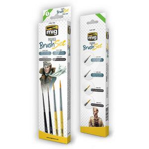 AMMO Mig 7600 Figures Brush Set