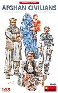 MiniArt 38034 Afghan Civilians 1/35