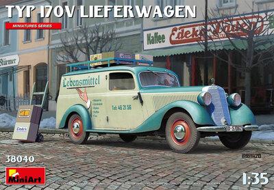 MiniArt 38040 Typ 170v Lieferwagen 1/35