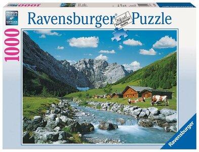 Ravensburger Karwendelgebergte, Oostenrijk #192168 Puzzel