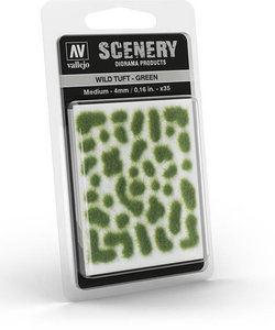 Vallejo Wild Tuft – Green #SC406