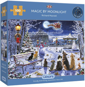 Gibsons Magic By Moonlight #G3132 Puzzel