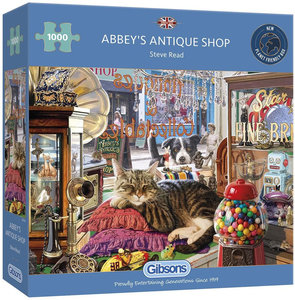 Gibsons Abbey's Antique Shop #G6303 Puzzel