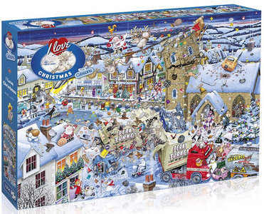 Gibsons I Love Christmas #G7013 Puzzel