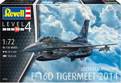 Revell 03844 Lockheed Martin F-16D Tigermeet 2014 1:72