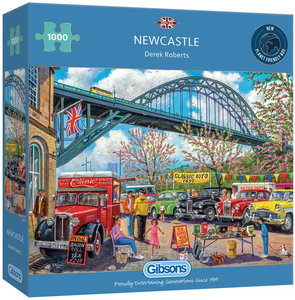 Gibsons Newcastle #G6313 Puzzel