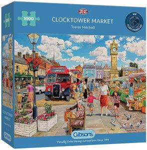 Gibsons Clocktower Market #G6321 Puzzel