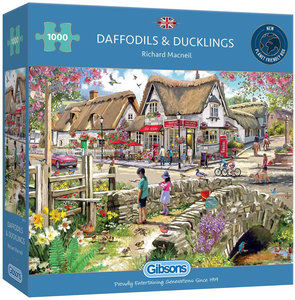 Gibsons Daffodils and Ducklings #G6319 Puzzel