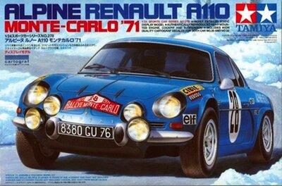 Tamiya Alpine Renault A110 Monte-Carlo 1:24 (24278)