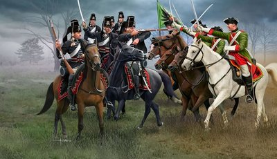 Revell Seven Years War AUSTRIAN DRAGOONS+PRUSSIAN HUSSARS 1:72 (02453)