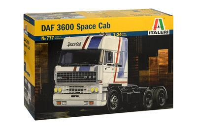 Italeri DAF 3600 Space Cab 1:24 (777)