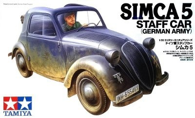 Tamiya Simca 5 Staff Car 1:35 #35321