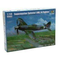 Trumpeter Supermarine Spiteful F.MK.14 Fighter 1:48 #02850